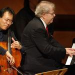 Yo Yo Ma & Emanuel Ax Photo credit Lawrence K. Ho