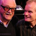 Jean Toots Thielemans with Bert van den Brink photo Hans Speekenbrink