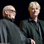 Jean Toots Thielemans with Hans van Oosterhout photo Hans Speekenbrink