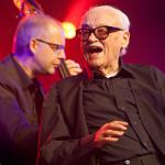 Jean Toots Thielemans met Bart de Nolf photo Hans Speekenbrink