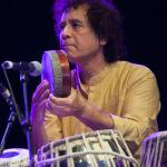 Zakir Hussain photo Hans Speekenbrink