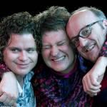 Erik Vloeimans met Harmen Fraanje en Anton Goudsmit